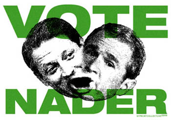 Poster for Ralph Nader
